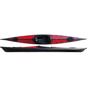 nortik argo Kayak red/black